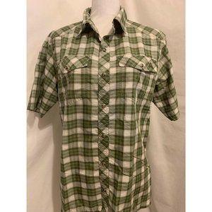 Ascend Button Down Short Sleeve Casual Shirt